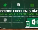 curso Aprende Excel en 3 dias